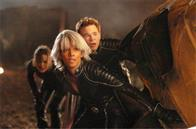 Kitty Pryde (Ellen Page, left), Storm (Halle Berry) and Iceman (Shawn Ashmore) find themselves in the midst of an epic battle.