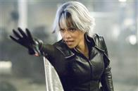 Halle Berry portrays Storm, who can manipulate all forms of weather.