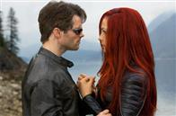 Cyclops (James Marsden) confronts Jean Grey (Famke Janssen), whom he thought had perished at Alkali Lake.