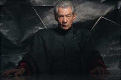 Ian McKellen returns as Magneto, a powerful mutant who can control and manipulate metal.