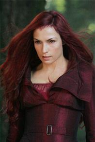 "Famke Janssen portrays Jean Grey, a mutant with incalculably powerful telekinetic and telepathic abilities, who is ""reborn"" as Dark Phoenix."