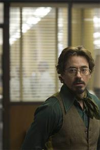 "Paul Avery (ROBERT DOWNEY JR.) is a crime reporter who gets involved with the case of a serial killer in Paramount Pictures and Warner Bros. Pictures' thriller ""Zodiac."""