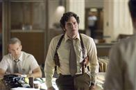"Inspector Bill Armstrong (ANTHONY EDWARDS, left, background) and Inspector Dave Toschi (MARK RUFFALO) are assigned to the case of a serial killer in Paramount Pictures and Warner Bros. Pictures' thriller ""Zodiac."""