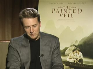 EDWARD NORTON (THE PAINTED VEIL) Interview 2006 | Movie ...