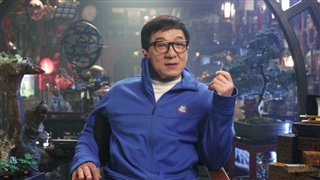 Jackie Chan - The LEGO NINJAGO Movie Interview (2017