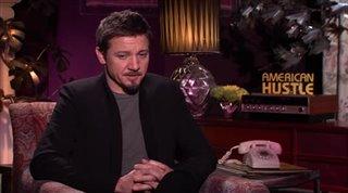 jeremy renner american hustle interview 2013 movie
