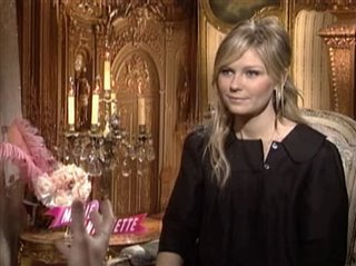 KIRSTEN DUNST (MARIE ANTOINETTE) Interview 2006 | Movie ...