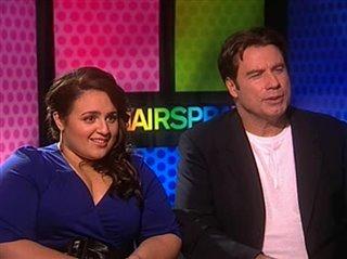 Nikki Blonsky & John Travolta (Hairspray) Interview 2007 ...