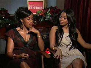 This Christmas Lauren London.Regina King Lauren London This Christmas Movie