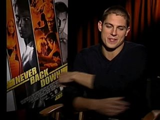 sean faris never back down interview 2008 movie interview
